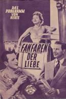 DPVH 48 Kino Fanfaren Der Liebe 1951 Dieter Borsche Georg Thomalla Grete Weiser Filmprogramm Programm Movie - Zeitschriften