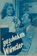 DPVH 61 Es Geschehen Noch Wunder 1951 Willi Forst Hildegard Knef Hans Leibelt Filmprogramm Programm Movie - Zeitschriften