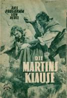 DPVH 63 Die Martinsklause 1951 Heimatfilm Ludwig Ganghofer Willy Roesner Nigg Filmprogramm Programm Movie - Zeitschriften