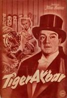 IFK 1015 Der Tiger Akbar 1951 Zirkus Circus Harry Piel Friedl Hart Millowitsch Filmprogramm Programm Movie - Zeitschriften