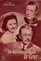 IFK 1020 Verklungenes Wien 1951 K.u.k. Kuk Ernst Marischka Paul Hörbiger Servi Filmprogramm Programm Movie - Zeitschriften