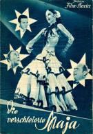 IFK 1081 Die Verschleierte Maja 1951 Maria Litto Willy Fritsch Grete Welser Kino Filmprogramm Programm Movie - Zeitschriften