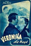 IFK 1123 Veronika Die Magd 1952 Isle Exl Eduard Köck Viktor Staal Paul Hörbiger Filmprogramm Programm Movie - Zeitschriften