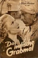 IFK 1887 Das Indische Grabmal Kitty Jantzen Fritz Van Dongen Karl Haubenreisser Filmprogramm Programm Movie - Zeitschriften