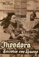 IFK 1998 Theodora - Kaiserin Von Byzanz 1954 Gianna Maria Canale Georges Marchal Filmprogramm Programm Movie - Zeitschriften