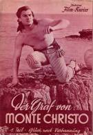 IFK 2034 Der Graf Von Monte Christo 1.Teil 1954 Le Comte De Jean Marais Dumas Filmprogramm Programm Movie - Zeitschriften