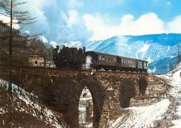 AK ÖBB Erzbergbahn Eisenerz - Vordernberg Zahnradbahn Rack Railway 1970 AUSTRIA Styria Steiermark Eisenbahn Zug Dampflok - Trains