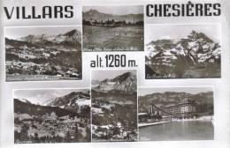 CPSM OLLON (Suisse-Vaud) - VILLARS CHESIERES 1260 M : 6 Vues - VD Vaud