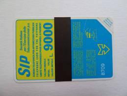 ITALY - Mint - 1987 - L9000 - SIP - 8709 - Italia