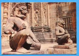 SIEMREAP ( Cambodge) Bandenay Srei Construit Sous Jayavarman V Divinitées Gardiennes - Cambodja