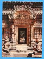 SIEMREAP ( Cambodge) Bandenay Srei Construit Sous Jayavarman V .Entrée Laterale - Cambodja