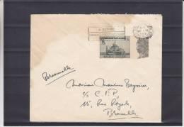 Basilique - Belgique - Lettre De 1938 ° - Tourisme - Belgio