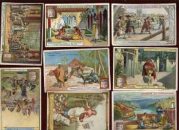 Lot De 8 Chromos Liebig   Lot No 9 - Liebig
