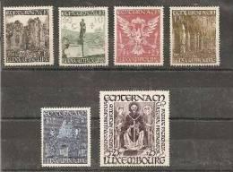 Lux Mi.Nr.417-22/ LUXEMBURG -  St. Willibrord-Abtei 1947 ** - Ungebraucht