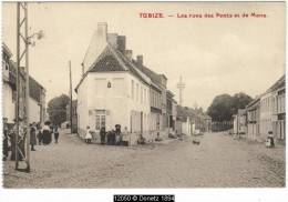 12050g RUES Des PONTS Et De MONS - Tubize - 1919 - Tubeke