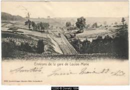 12200g GARE - TRAIN - AIGUILLAGE - Louise-Marie - Namur