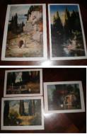 5  Riproduzioni  PRIMI ' 900 Scenografie  Constantin  HOLSCHER , Stampa Paul Heckscher - Prints & Engravings