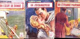 "Lot De 5 Petits Formats - Genre "" Romantique "" . - Sonstige"