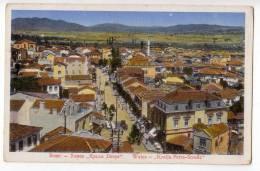 EUROPE MACEDONIA VELES KING PETER STREET OLD POSTCARD 1941. - Macedonia