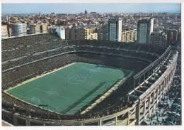 STADIUMS MADRID BERNABEU STADIUM OLD POSTCARD 1968. - Stadiums