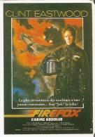 CALENDARIO DEL AÑO 1993 DE LA PELICULA FIREFOX DE CLINT EASTWOOD (CALENDRIER-CALENDAR) - Tamaño Pequeño : 1991-00
