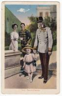 "ROYAL FAMILIES EMPEROR FRANZ JOSEF ""THREE GENERATIONS"" M.M.S.W. III/2 OLD POSTCARD - Royal Families"