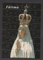 PUZZLE Format Carte Postale  POSTCARD 48pieces PORTUGAL OUR LADY Of FÁTIMA FATIMA PUZZLE SIZE = POSTCARD 15 Cm X 10 Cm - Religion & Esotericism