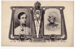 "ROYAL FAMILIES EMPEROR FRANZ JOSEF ""OUR EMPEROR"" B.K.W.I. Nr. 941-1 OLD POSTCARD - Royal Families"