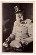 ROYAL FAMILIES EMPEROR FRANZ JOSEF Nr. 9016 OLD POSTCARD - Royal Families