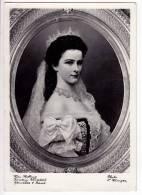 "ROYAL FAMILIES EMPEROR FRANZ JOSEF ""EMPRESS ELISABETH"" OLD POSTCARD - Royal Families"