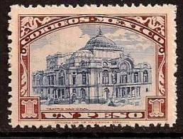MEXICO 1923 OLD BUILDING SC # 649 MNH - Messico