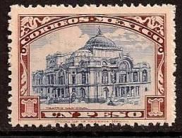 MEXICO 1923 OLD BUILDING SC # 649 MNH - Mexiko