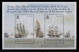 S    Océan Indien Anglais  **  -  Bloc 23 -  Voilier - Territoire Britannique De L'Océan Indien
