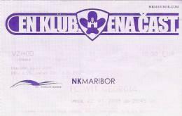 NK Maribor-FC Wit Georgia/Football/UEFA Europa League Match Ticket - Tickets D'entrée