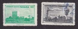 Panama, Scott# C230, C233, Used, National University, Issued 1960 - Panama