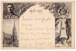 ROYAL FAMILIES EMPEROR KARL I. 1914.-1917. OLD POSTCARD 1917. - Royal Families