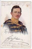 ROYAL FAMILIES EMPEROR KARL I. OLD POSTCARD 1915. - Royal Families