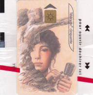 TELECARTE NSB 50 U - Camille CLAUDEL - CEF 35 - 1200 Ex @  06/2000 - France