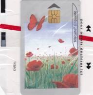 TELECARTE NSB 50 U - PAPILLONS COQUELICOTS - CEF 37 - 1200 Ex @  10/2000 - France