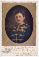 ROYAL FAMILIES ARCHDUKE CARL FRANZ JOSEF JAMMED OLD POSTCARD - Royal Families