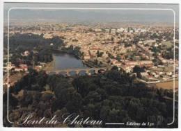 1374-France Pont Du ChateauVue Aerienne De La Ville-Ed Lys - Pont Du Chateau