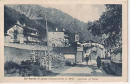 Torino - Val Grande Di Lanzo ( Chialamberto M. 877 ) - Ingresso Al Paese - Non Classificati