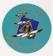 56 - MARINE NATIONALE -AUTOCOLLANT 6  AERO -  ESCADRILLE 52 S - Stickers