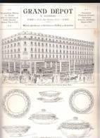 Grand Depot Bourgeois Paris - Services De Table Provence, Rouen, Strasbourg, Service Verre Cristal - France