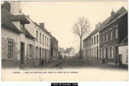 11893g RUE De BRUXELLES, Vers Le Pont De La Senne - Tubize - 1907 - Tubize