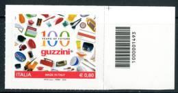 """ITALIA / ITALY 2012** - Made In Italy """"Guzzini""""  - 1 Val. Con Codice A Barre Come Da Scansione - 6. 1946-.. Repubblica"""