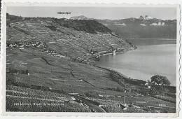 Carte Photo Lac Léman, Route De La Corniche 1951 (marque Postale ?) - VD Waadt