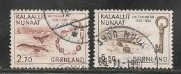 GREENLAND - GRONLAND  - Yvert # 136-138 - USED - Greenland