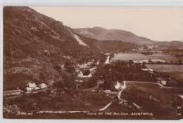 ABERFOYLE - VIEW AT THE MILTON - Photo Postcard Malcolm McCallum - Perthshire