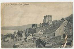 Gibraltar The Old Moorish Castle Used In The UK 1914, Card Is Soft In Places And Has Minor Faults - Gibilterra